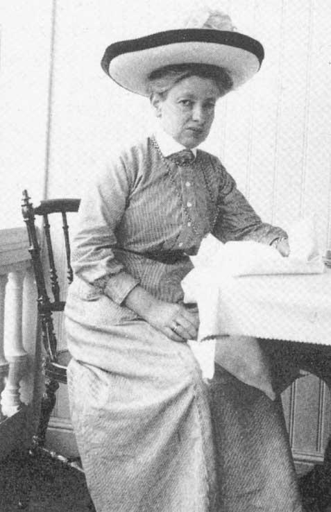 Porträttbild på Gerda Meyerson