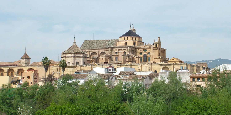 Vy över staden Cordoba i Spanien