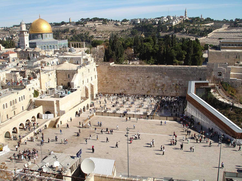Västra muren i Jerusalem